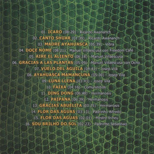 canciones del CD