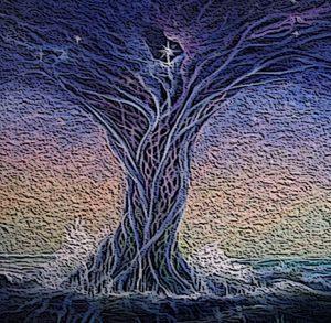árbol cósmico